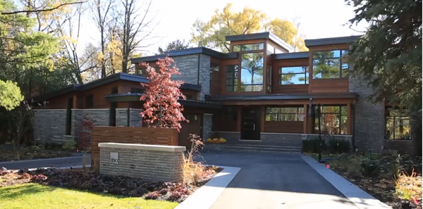Modern and contemporary dream homes areers in onstruction - ^