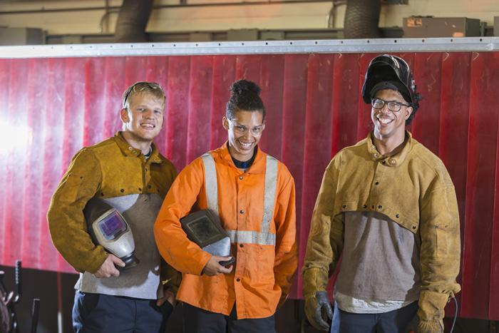 Welder Related Machine Operator Careers In Construction