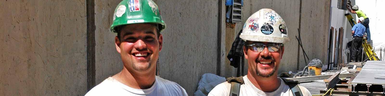 Journeyman ironworkers construction workers